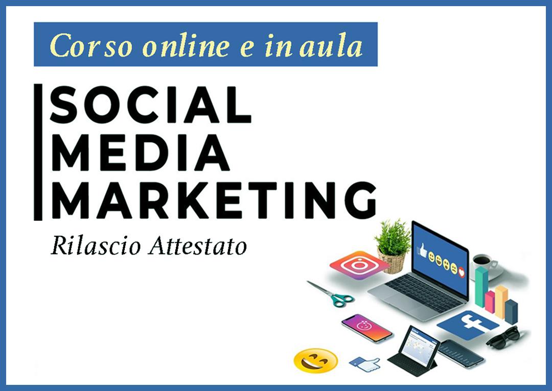 Corso-social-media-marketing-online e rilascio attestato